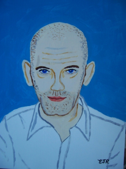 Michael Stipe by EAMONREILLY